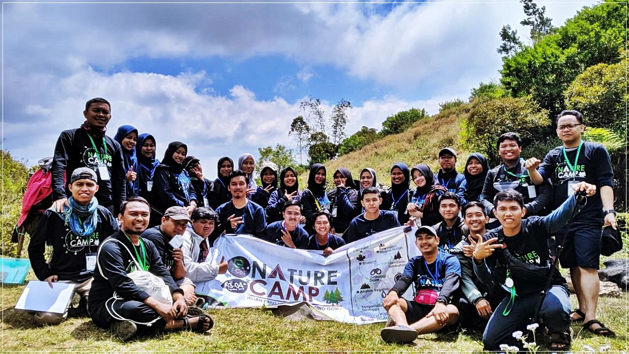 Mahasiswa Biologi Meriahkan Kegiatan Nature Camp 2019