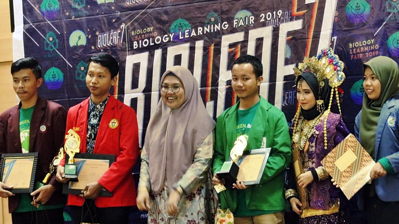 Bioleaf Tahun ke-7, Terbesar di Oktober 2019, Terbesar di Biologi UINAM
